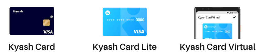 Kyash Visa Cardの比較